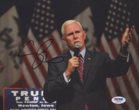 Mike Pence Signed 8x10 Photo (PSA Hologram) at PristineAuction.com