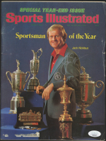 Jack Nicklaus Signed 1978-79 Sports Illustrated Magazine (JSA COA) at PristineAuction.com