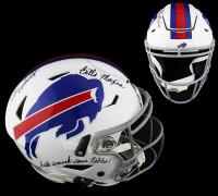 "Bruce Smith Signed Bills Full-Size Authentic On-Field SpeedFlex Helmet Inscribed ""Bills Mafia"" & ""Let's Smash Some Tables!"" (Radtke COA) at PristineAuction.com"