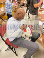 Bruce Smith Signed Bills Full-Size Authentic On-Field Color Rush Speed Helmet (Radtke COA) at PristineAuction.com
