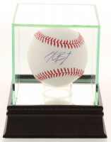 Kris Bryant Signed OML Baseball with High Quality Display Case (JSA COA) at PristineAuction.com