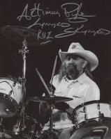 "Artimus Pyle Signed Lynyrd Skynyrd 8x10 Photo Inscribed ""Lynyrd Skynyrd"" & ""RVZ"" (AutographCOA Hologram) at PristineAuction.com"