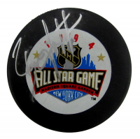 Brian Leetch Signed 1994 All-Star Game Logo Puck (PSA COA) at PristineAuction.com