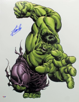 "Stan Lee Signed ""Hulk"" 16x20 Photo (PSA COA) at PristineAuction.com"