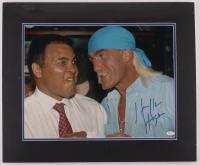 Hulk Hogan Signed 20x24 Custom Matted Photo Display (JSA COA) at PristineAuction.com
