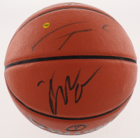 Giannis Antetokounmpo & Khris Middleton Signed Official NBA Game Ball Series Basketball (PSA COA) at PristineAuction.com