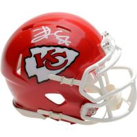 Travis Kelce Signed Chiefs Speed Mini-Helmet (Fanatics Hologram) at PristineAuction.com