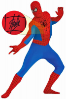 "Stan Lee Signed ""Marvel"" Spider-Man Costume (PSA COA & Lee Hologram) at PristineAuction.com"
