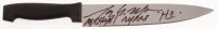 """Tony Moran Signed """"Halloween"""" Stainless Steel Knife Inscribed """"Michael Myers"""" & """"H1"""" (Legends Hologram) at PristineAuction.com"""