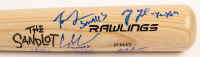"""The Sandlot"" Rawlings Pro Baseball Bat Cast-Signed by (6) with Tom Guiry, Chauncey Leopardi, Marty York, Shane Obedzinski with Multiple Character Inscriptions (Beckett COA) at PristineAuction.com"