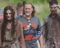 "Greg Nicotero Signed ""The Walking Dead"" 8x10 Photo (ACOA Hologram) at PristineAuction.com"
