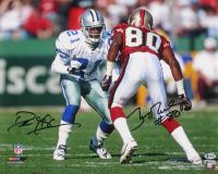 Deion Sanders & Jerry Rice Signed 16x20 Photo (Beckett COA) at PristineAuction.com
