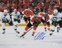 Claude Giroux Signed Flyers 11x14 Photo (JSA COA) at PristineAuction.com