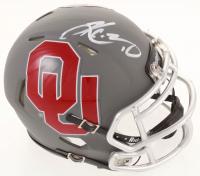 Kyler Murray Signed Oklahoma Sooners AMP Alternate Speed Mini-Helmet (Beckett COA) at PristineAuction.com