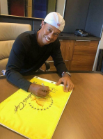 Tiger Woods Signed 2019 President's Cup LE Golf Pin Flag (UDA COA) at PristineAuction.com
