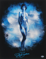 "Jen Taylor Signed ""Halo"" 16x20 Photo Inscribed ""Cortana"" (Beckett Hologram) at PristineAuction.com"