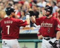 Jeff Bagwell & Craig Biggio Signed Astros 16x20 Photo (Beckett COA & TriStar Hologram) at PristineAuction.com