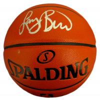 Larry Bird Signed NBA Game Ball Series Basketball (JSA COA & Bird Hologram) at PristineAuction.com