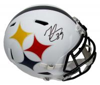 Minkah Fitzpatrick Signed Steelers Full-Size AMP Alternate Speed Helmet (Beckett COA) at PristineAuction.com