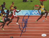 Usain Bolt Signed Team Jamaica 8x10 Photo (JSA COA) at PristineAuction.com