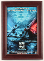 """Star Wars: The Rise of Skywalker"" 14.5x20.5 Custom Framed Print Display at PristineAuction.com"