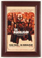 """The Mandalorian"" 14.5x20.5 Custom Framed Print Display at PristineAuction.com"