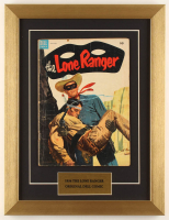 """Vintage 1954 """"The Lone Ranger"""" 13x17 Custom Framed Comic Book Display at PristineAuction.com"""