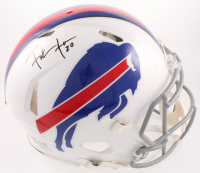 Frank Gore Signed Bills Full-Size Authentic On-Field Speed Helmet (Beckett COA) at PristineAuction.com