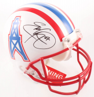 Eddie George Signed Oilers Full-Size Authentic On-Field Helmet (Beckett COA) at PristineAuction.com