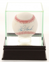 Lou Brock Signed ONL Baseball with Display Case (PSA COA) at PristineAuction.com