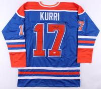 "Jari Kurri Signed Jersey Inscribed ""HOF 2001"" (Beckett COA) at PristineAuction.com"