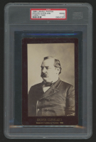 Grover Cleveland 1888 J. McGill Cabinet Card (PSA 2) at PristineAuction.com