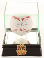 Cal Ripken Jr. Signed OL Baseball with Display Case (Beckett COA) at PristineAuction.com