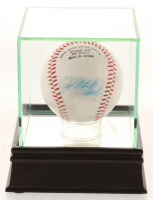 "Jim ""Catfish"" Hunter Signed OL Baseball with Display Case (PSA COA) at PristineAuction.com"