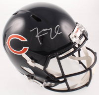 Khalil Mack Signed Bears Full-Size Speed Helmet (Beckett COA) at PristineAuction.com