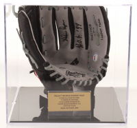 "Nolan Ryan Signed Rawlings Baseball Glove Inscribed ""H.O.F. '99"" with Display Case (PSA COA) at PristineAuction.com"