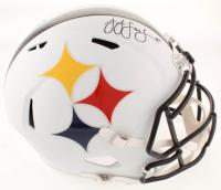 JuJu Smith-Schuster Signed Steelers Full-Size AMP Alternate Speed Helmet (TSE COA) at PristineAuction.com