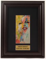 "LeRoy Neiman ""Marilyn Monroe"" 10x13 Custom Framed Print Display at PristineAuction.com"