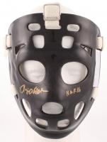 "Rogie Vachon Signed Hockey Goalie Mask Inscribed ""H.O.F. 16"" (Schwartz COA) at PristineAuction.com"