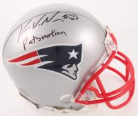 "Kyle Van Noy Signed Patriots Mini Helmet Inscribed ""Pats Nation"" (PSA COA) at PristineAuction.com"