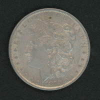 1879 Morgan Silver Dollar at PristineAuction.com