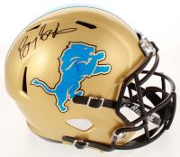 Barry Sanders Signed Lions Full-Size Speed Helmet (Schwartz COA) at PristineAuction.com