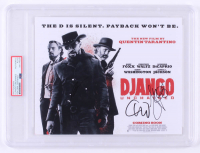"Leonardo DiCaprio, Jamie Foxx & Christoph Waltz Signed ""Django Unchained"" 8x10 Photo (PSA Encapsulated) at PristineAuction.com"