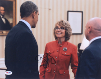 Gabby Giffords Signed 11x14 Photo (PSA Hologram) at PristineAuction.com