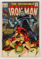 """1969 """"The Invincible Iron Man"""" Issue #14 Marvel Comic Book at PristineAuction.com"""