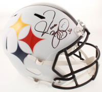 Jerome Bettis Signed Steelers Full-Size AMP Alternate Speed Helmet (JSA COA) at PristineAuction.com