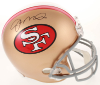Joe Montana Signed 49ers Full-Size Helmet (JSA COA) at PristineAuction.com