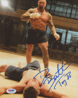 """Dave Bautista Signed """"Kickboxer: Vengeance"""" 8x10 Photo Inscribed """"Tong Po"""" (PSA Hologram) at PristineAuction.com"""