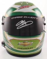Chase Elliott Signed NASCAR Mountain Dew Full-Size Helmet (Elliott COA & PA COA) (See Description) at PristineAuction.com