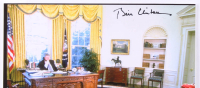 Bill Clinton Signed 11x14 Photo (PSA LOA) at PristineAuction.com